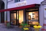 Creamy Frozen Yogurt & Waffle Foto 2004 von creamy